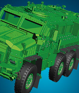 Morrel defense wheeled systems