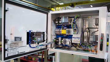 Stegner controls panel building service solutions