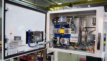 Stegner controls panel building service solutions