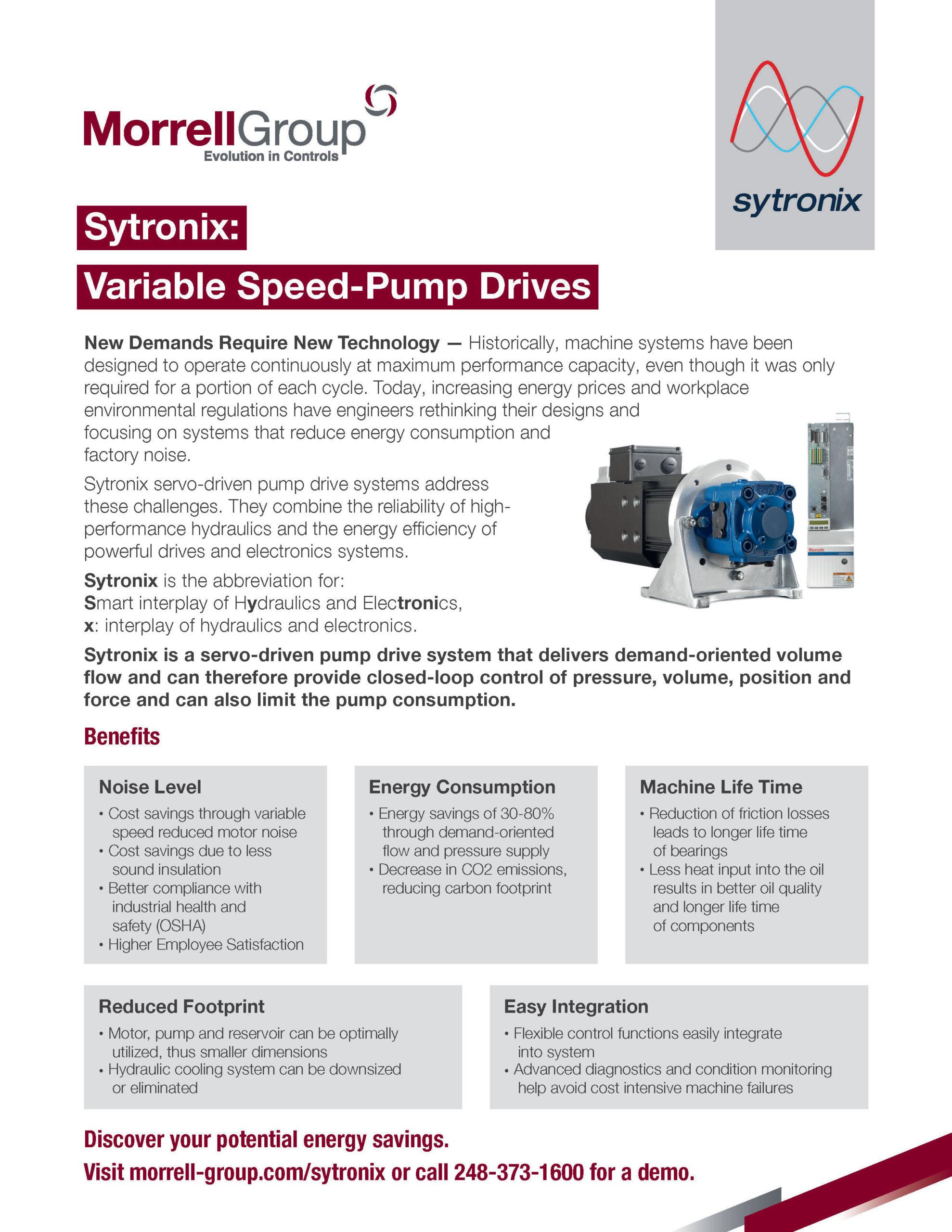 Sytronix Sell Sheet