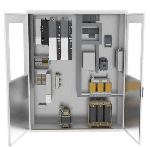 Morrell Group Battery Cycling DC Testing Solution Panel
