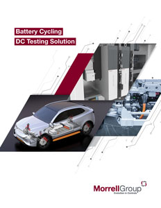 Morrell Group Battery Cycling DC Testing Solution