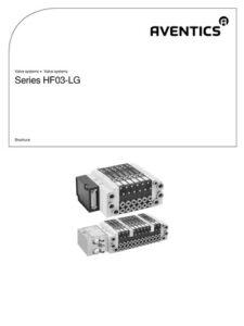 AVENTICS HF03 Valve Manifold Brochure