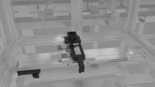 Bosch Rexroth PSK90 Ball Screw Module MS2N Motor