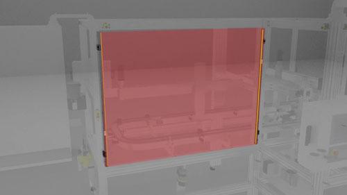 SICK detec4 safety light curtains