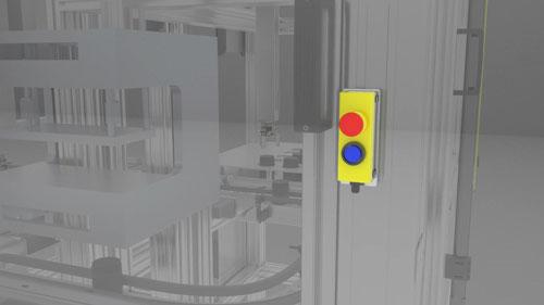 SICK E-Stop Button