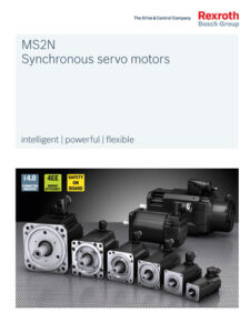 Bosch Rexroth MS2N synchronous servo motors