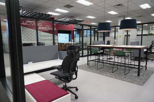 Motioneer Workspace in Morrell Group Headquarters