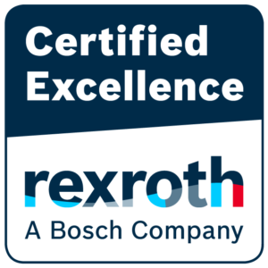 Certified Excellence Logo Bosch Rexroth